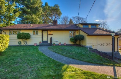 Des Moines Single Family Home For Sale: 19264 Occidental Ave S