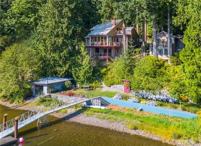Single Family Home For Sale: 905 E Lake Samish Dr