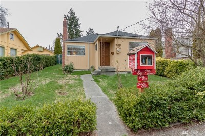 Seattle Single Family Home For Sale: 8627 9th Ave SW