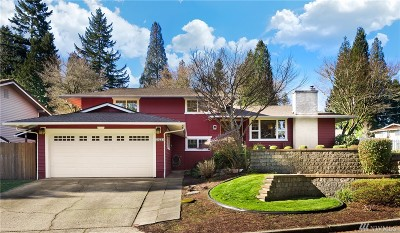 Bellevue Single Family Home For Sale: 6303 129th Place SE