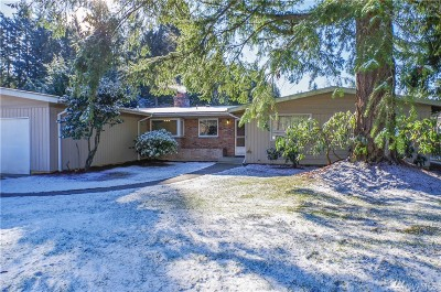 Bellevue Single Family Home For Sale: 2506 156th Ave SE