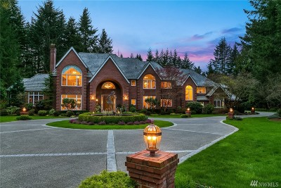 Woodinville Single Family Home For Sale: 19315 218th Place NE