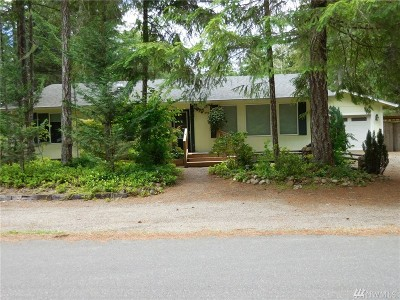 Hoodsport Single Family Home For Sale: 240 N Lake View Dr