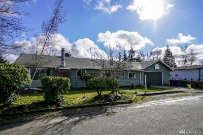 Tacoma WA Single Family Home For Sale: $265,000