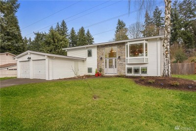 Bellevue Single Family Home For Sale: 5412 123rd Ave SE