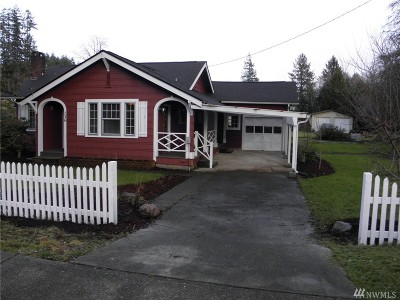 Montesano Single Family Home For Sale: 726 N 1st St