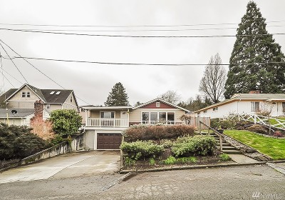 Seattle Single Family Home For Sale: 8547 S 123rd Place