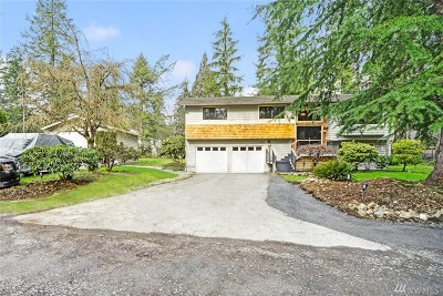 Woodinville Single Family Home For Sale: 8525 244th St SE