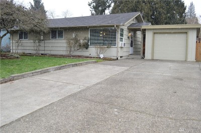 Auburn WA Single Family Home For Sale: $259,950