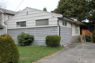 Seattle Single Family Home For Sale: 1714 N 100th St