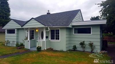 Bellingham Single Family Home For Sale: 707 York St