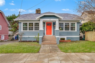 Seattle Single Family Home For Sale: 6051 4th Ave NW