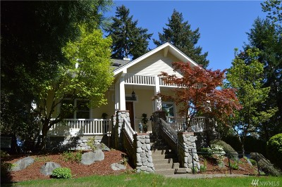 Gig Harbor Single Family Home For Sale: 7915 26th Ave NW