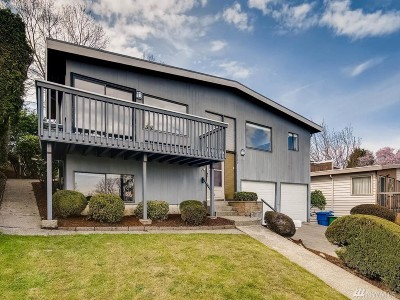 Seattle Single Family Home For Sale: 9146 Spear Place S