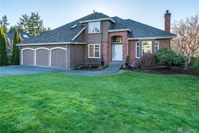 Issaquah Single Family Home For Sale: 4721 242nd Ave SE