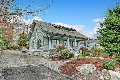 Burien Single Family Home For Sale: 136 SW 156th St
