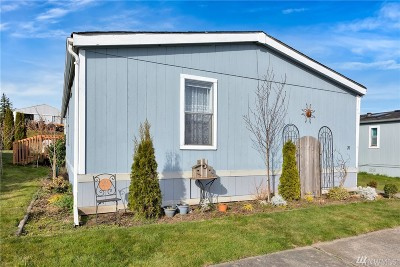 Whatcom County Mobile Home For Sale: 1245 Bradley Rd #28