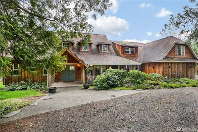 Single Family Home For Sale: 8840 Steamboat Island Rd NW