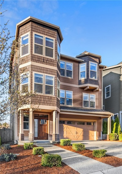 Kirkland Single Family Home For Sale: 8418 NE 123rd Place