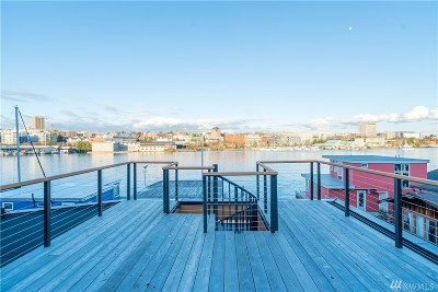 Seattle Single Family Home For Sale: 3146 Portage Bay Place E #G