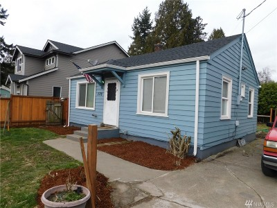 Tacoma Single Family Home For Sale: 339 100th St S