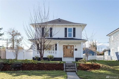 Everett Single Family Home For Sale: 2006 Oakes Ave