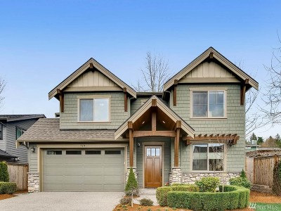 Kirkland Single Family Home For Sale: 714 8th St S