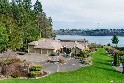 Gig Harbor Single Family Home For Sale: 1129 Aqua Vista Dr NW