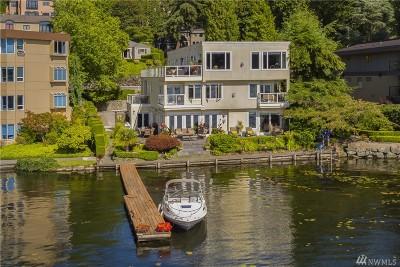 Kirkland Condo/Townhouse For Sale: 4505 Lake Washington Blvd NE