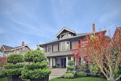 Tacoma Single Family Home For Sale: 415 N G St