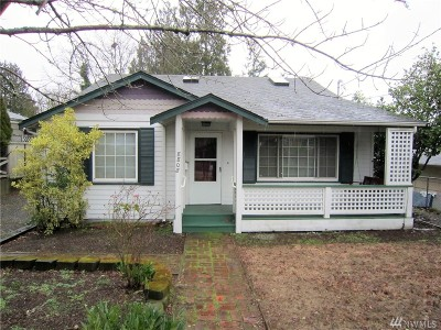 Seattle Single Family Home For Sale: 8808 Interlake Ave N