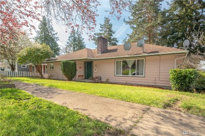 Chehalis Single Family Home For Sale: 441 NE Adams Ave