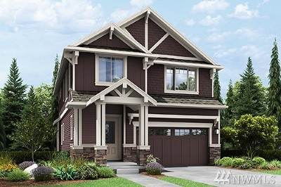 Issaquah Single Family Home For Sale: 435 5th (Lot 33) Ave NE