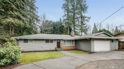Renton Single Family Home For Sale: 15525 207th Place SE