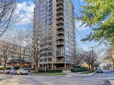 Seattle Condo/Townhouse For Sale: 1120 Spring St #1301