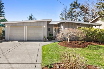 Bellevue Single Family Home For Sale: 37 157th Ave SE