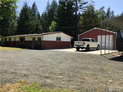 Mason County Single Family Home Pending Inspection: 1350 SE Cole Rd