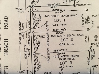 Point Roberts Residential Lots & Land For Sale: 450 South Beach