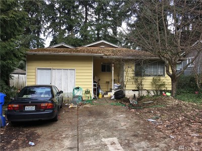 Pierce County Single Family Home For Sale: 2101 E 60th St
