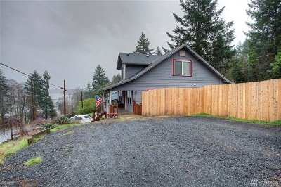 Mason County Single Family Home Pending: 225 W Harvard Ave