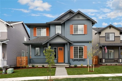 Bonney Lake Single Family Home For Sale: 13126 182nd (Lot 75) Ave E