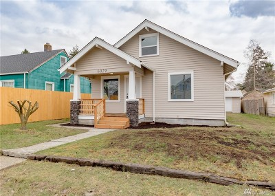 Single Family Home For Sale: 6029 S Montgomery St