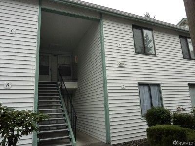 Federal Way Condo/Townhouse For Sale: 2007 SW 318 Place #7D