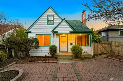 Seattle Single Family Home For Sale: 6726 35th Ave SW