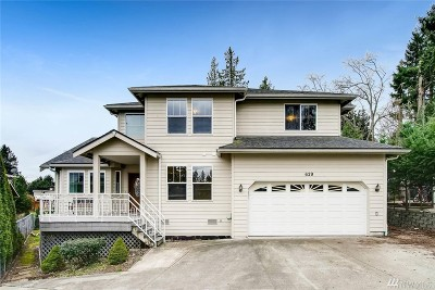 Burien Single Family Home For Sale: 629 SW 143rd St