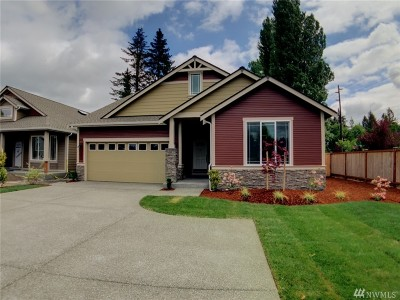 Thurston County Single Family Home For Sale: 6884 Bellamae Ct SW