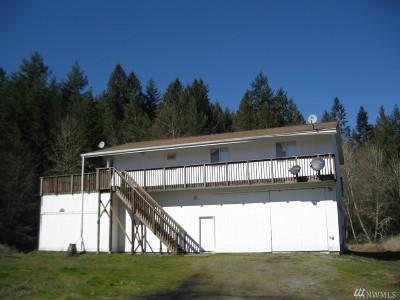 Centralia Single Family Home For Sale: 2881 Little Hanaford Rd