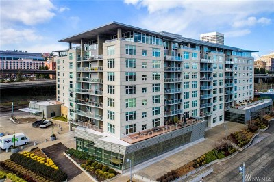 Tacoma Condo/Townhouse For Sale: 1515 Dock Street #912