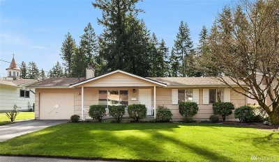 Mountlake Terrace Single Family Home For Sale: 6408 225th Place SW