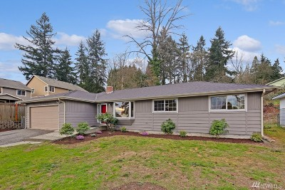 SeaTac Single Family Home For Sale: 16439 48th Ave S